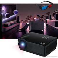 US Stock! H3 3D Projector Multimedia LED Projector 1280*768 ...