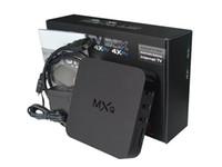 MXQ android tv box 4K quad core tronsmart stick 8gb 1G rom s...