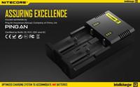 Nitecore Intellicharger I2 (nous avons également i4 d2 d4) Chargeur de batterie I2 18650 18350 18500 Chargeur de batterie Chargeur de batterie Nitecore authentique