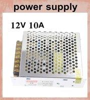 AC 100V-240V à dc 12v 120W 10A mode de commutation d'alimentation adaptateur chargeur ac alimentation avec boîtier en aluminium pour bande à led rgb DY020