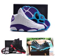 Nike dan 13 Retro Bred Flint Grey Toe Black Infrared Men air jordans Basketball Shoes,
