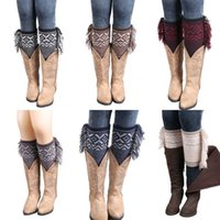 Factory Price New Women Winter Short Knee Leg Warmers Sock T...