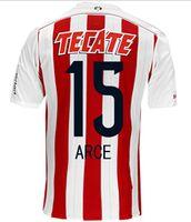 Chivas de Guadalajara Home 2014 15 Reyna 10 Soccer Jersey To...