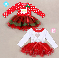 New Girl' s Beautiful Christmas Dress Santa Dress Prince...