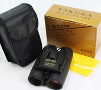 30x60 Sakura HD high- powered binoculars 20pcs a bag, blue an...