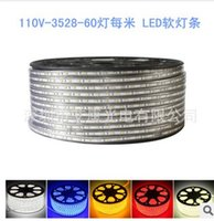 LED 110V soft light lamp with 3528 patch 60 lamp per meter w...