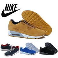 Free Shipping 2016 Nike Air Max 90 VT antifur cow leather ru...