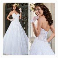 2015 Wedding Dresses Luxury Wedding Dress with Beading Sweet...