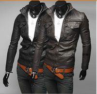 Fashion Designer Jackets Men Leather Jackets Mens motorcycle...