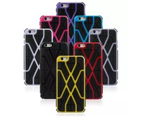Spider Plastic With TPU Hybrid Case Cover for iPhone 6 Plus ...
