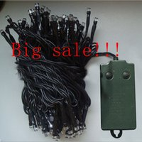 Battery Operated 10M 40M 72 300 leds 8 Function Indoor Outdo...