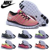 Nike Free Flyknit NSW 5. 0 Womens Running Shoes, Wholesale Ori...