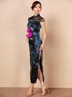 2015 New!Luxury and Vintage Fashion Slim Chinese Long Cheong...