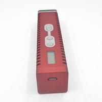 Titan 2 kit Dry herbal Vaporizador E cigarrillo hierbas secas Vaporizador pluma 2200mAh lcd pantalla Titan II vapor HEBE Ecig VS titan 1