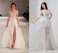 Paolo Sebastian Inspired In Stock Ivory Prom Dresses Cheap U...
