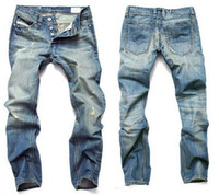 Venda imperdível ! 2014 Homens Jeans Homens Famosos Jeans Moda Denim Moda, Homens Jeans de algodão, Jeans Grande Desinger Jeans