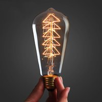 Wholesale- 10PCS Christmas tree Vintage Edison light Bulb 40W...