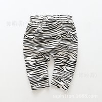 NEW ARRIVAL baby girl kids Summer zebra pants legging haren ...