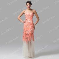 Grace Karin Brand New Off Shoulder Lace Bridesmaid Dresses S...
