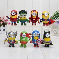 Despicable Me 3 Minions COS Super Hero Captain America Thor ...
