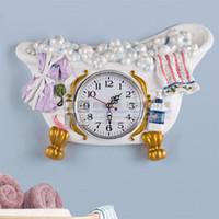wholesale decorative bathroom wall clocks  buy cheap decorative, Home decor