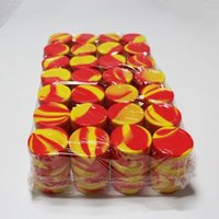Nonstick Wax Containers caja de silicona jarras dab herramienta de almacenamiento jar titular de aceite para vaporizador vape 3ml 5ml 7ml