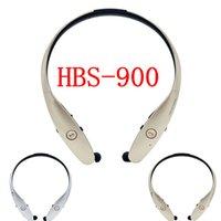 HBS- 900 Bluetooth Headset Silver Golden Wireless Bluetooth H...