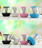 Design Bluetooth Wireless Speaker With LED Colorful Lights M...