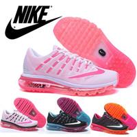 Nike Flyknit Air Max 2016 Mesh Women' s Running Shoes, Di...