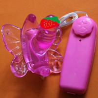 НОВЕЙШИЕ Женщины Онанизм Ремень Бабочка Вибратор дистанционного управления дилдо G-пятно Вибратор Секс игрушки для пар