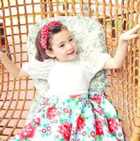 Korean Children Clothing 2015 New Girl Outfits Short Sleeved...