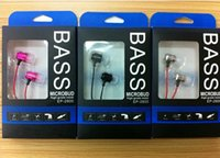 3,5 mm dans l'oreille d'écouteurs stéréo Métal Matériel Bass Sound avec casque Choc Effet EP-2800 Avec Extra Bass In-Ear Ear Phone HZ 931