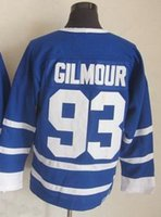 2015 #93 Doug Gilmour CCM 75th Anniversary Vintage Blue Hock...
