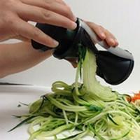 Spiral Slicer Spirelli Grater Vegetable Fruits Shred Process...