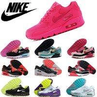 Nike Air Max 90 (GS) Hyper Pink Vivid Pink Men Women Runing ...