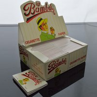 BIG BAMBU Rolling Paper 96mmx66mm Cigarette Papers for Smoki...