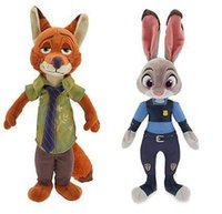 zootopia hot sell plus toy Nick Wilde Judy Hopps 45cm 65cm 8...