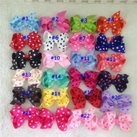 22colors New arrival 3. 5inch high quality grosgrain ribbon p...