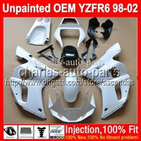 7gifts Unpainted Full Fairing Kit For YAMAHA YZF- R6 YZFR6 YZ...
