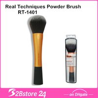 Real Techniques powder brush RT- 1401, NIB, Sam Chapman, oran...