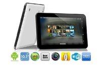 Nouveau 10,1 pouces Tablet 3G Phablet Téléphone Appel Tablet PC MTK6572 1GB / 16GB Dual SIM Android 4.2 double caméra 1024 * 600 libre