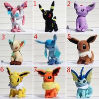 Poke Pikachu Plush toys 30cm Glaceon Leafeon Jolteon Umbreon...