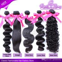 Factory price cheap Brazilian Virgin Hair Human Hair Weave s...