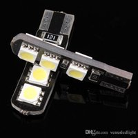Canbus No Error canbus T10 w5w 191 5050 6 LED SMD White Car ...