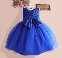 2015 Spring Shine Girls Formal Dress Cotton Sleeveless Big B...