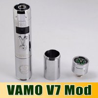VAMO V7 mod upgarded 3. 0v- 6. 0v 3W- 30W Variable VV Vamo V7 ba...