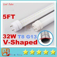T8 G13 32W 5ft (feets) V- Shaped Led Tube Lights Cooler Door ...