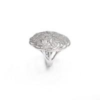 Bague fantaisie, bijoux fantaisie, mariage, bague en argent sterling 925, rhodium, haute qualité, avec AAA CZ cadeau pour les femmes anneaux pour fête ou holiday19599