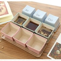 3pcs Set Keyboard Cups With Tray Ctrl ALT DEL Mug Tea Coffee...