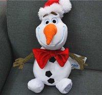 Christmas Olaf Doll Princess Olaf Snowman Doll with Christma...